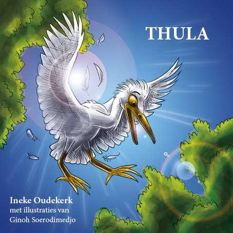 Het Surinaamse kinderboek Thula van Ineke Oudekerk met illustraties van Ginoh Soerodimedjo